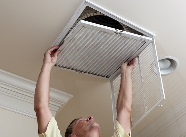 how to change a filter in hvac system