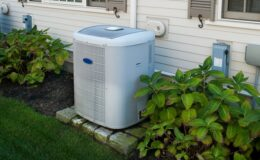 how do you clean an outside air conditioning unit